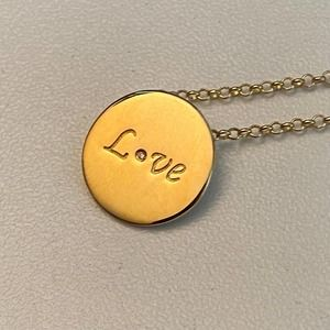 M2 Mary Margrill LOVE Pendant VERY RARE Necklace